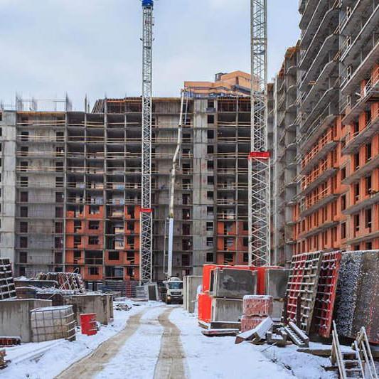 ЖК Территория,ход строительства, 2018