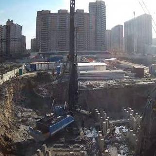 ЖК Территория, ход строительства март 2016
