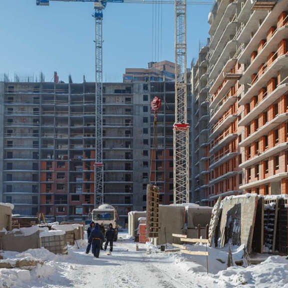 ЖК Территория,ход строительства февраль 2018